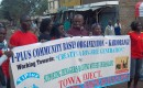 T-plus CBO doing community mobilisation for HTC at Kariobangi & Korogocho slums - TOWA project 2011
